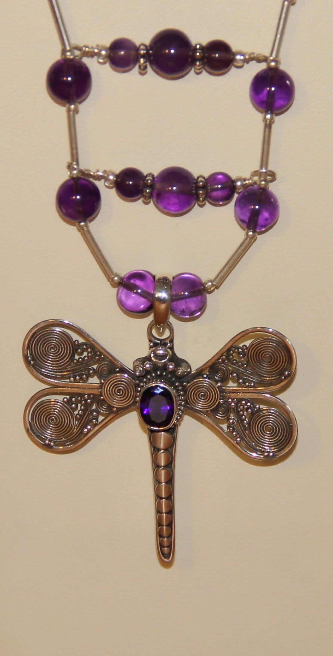 3b La fée libellule violette
