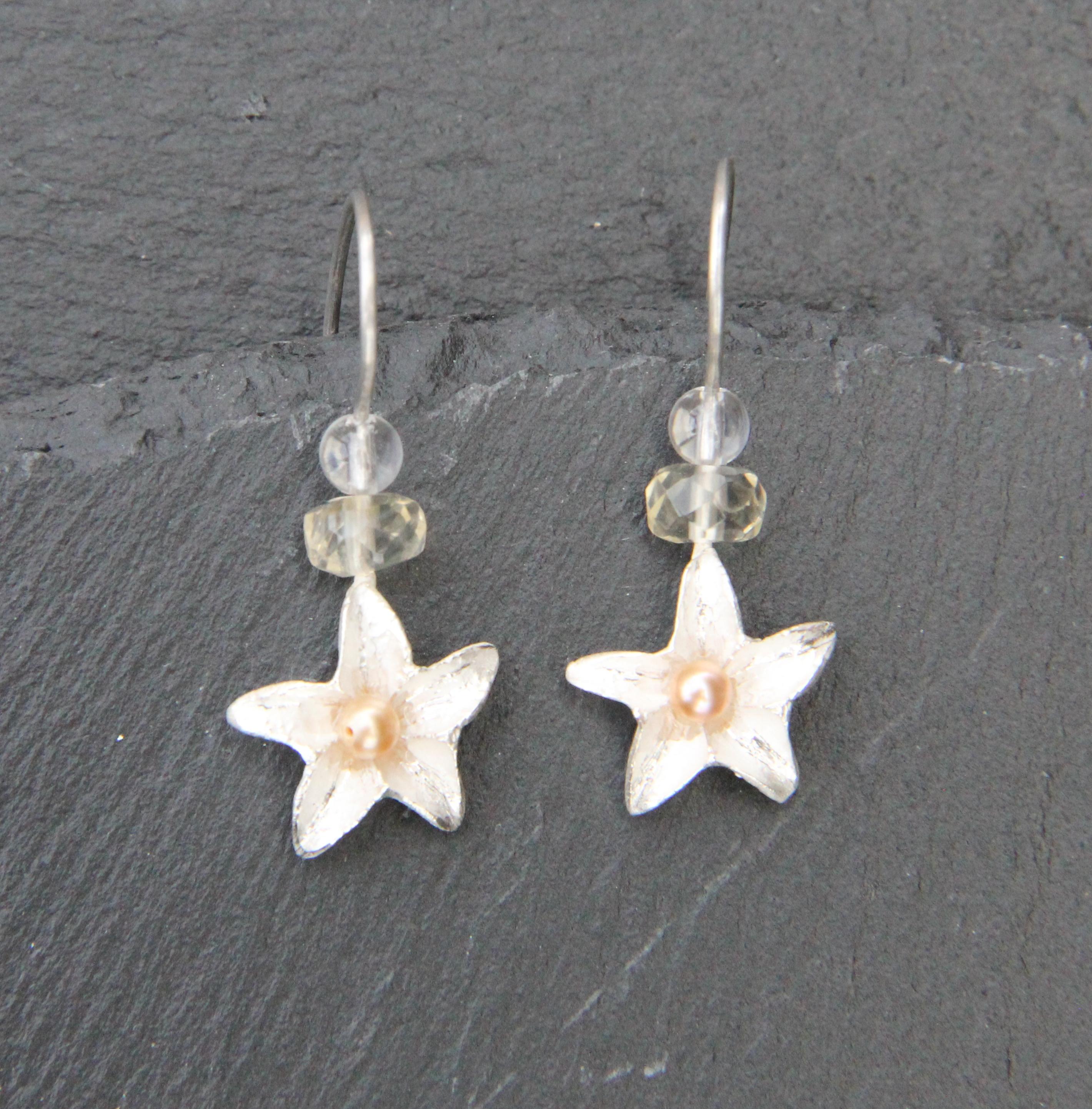 boucles d'oreilles collection fleurs – quintessence bijou