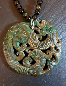 Collier dragon 7